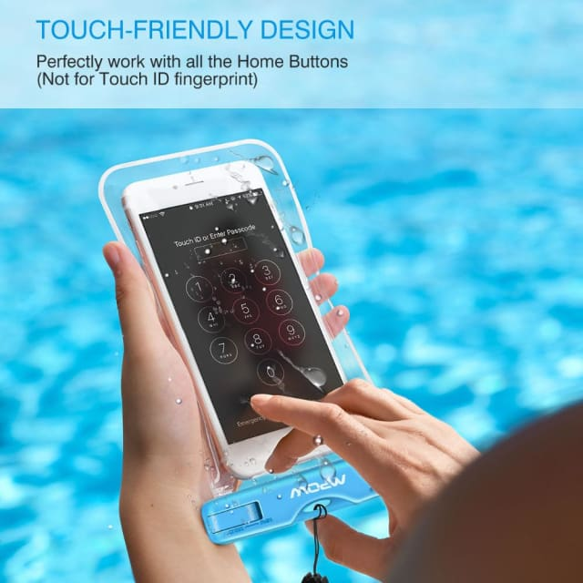 Mpow Waterproof bag - Bag Swimming Case Easy Take Photo Underwater for iphone7/7plus Galaxy/LG/HTC atc - Phone Pouch