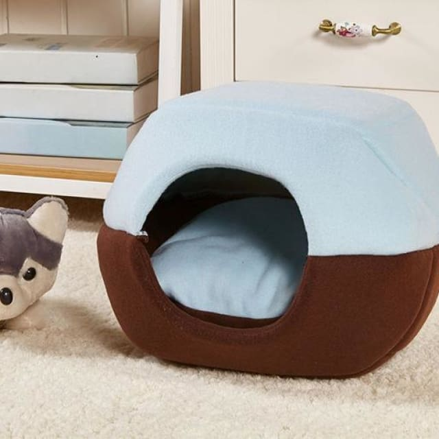 Multifunction Warm Kennel For Pet Dog / Cat - Blue / S 35x30cm - Multifunction Kennel
