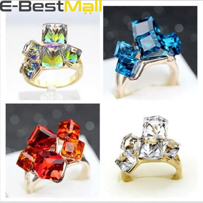 Nice sparkly cubes - Ring - Ring