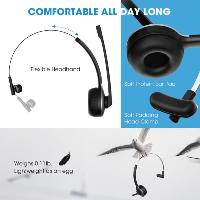 Noise Canceling Headphone Bluetooth V4.1 with microphone - Headphone