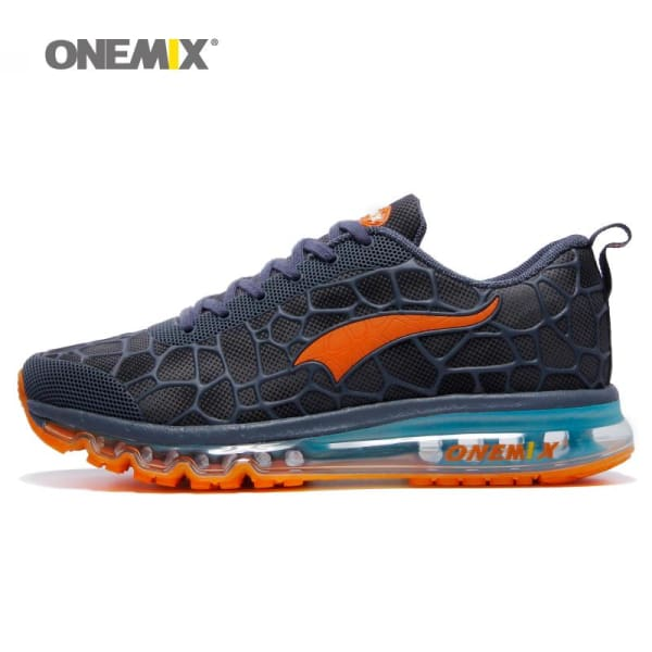 ONEMIX New Mens Running Shoes Outdoor Sport Sneakers Breathable zapatillas hombre Lightweight Walking Shoes size 39-47 - Running Shoes