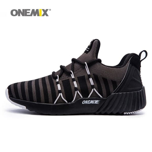 ONEMIX The Light Of City - Unisex Running Shoes Breathable Weaving Sport Sneakers - Running Shoes