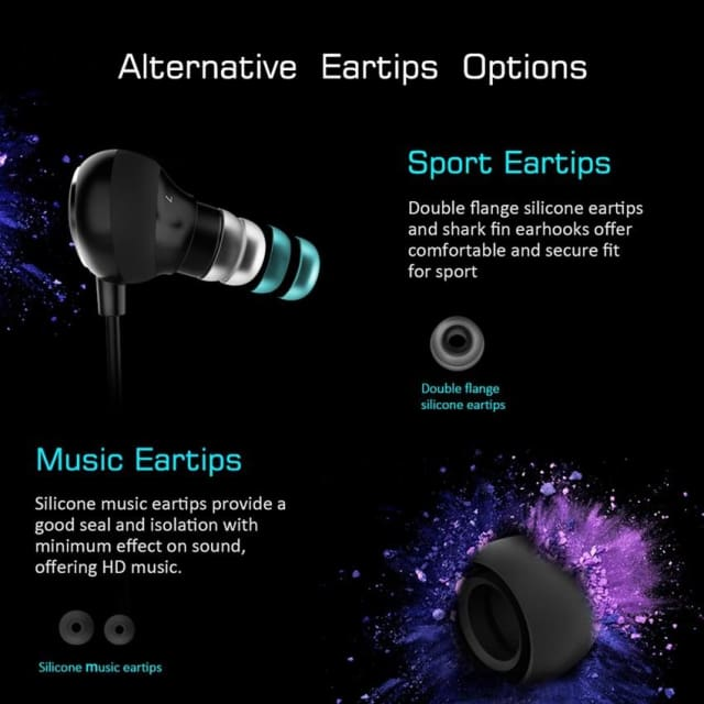 Original MPOW Dunmer Headphone Bluetooth 4.1 Sports Running Stereo Hands-Free Calling Wireless earphone Headset with Microphone - Earphone