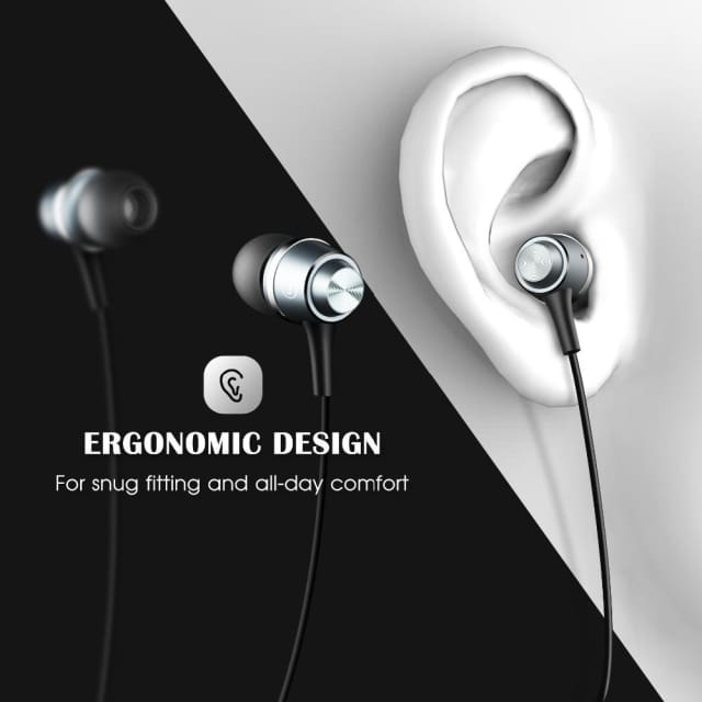 Original Mpow In-ear Headphones Headset 3.5mm jack niosy cancelling build-in microphone sports earphone for iphone andriod phone - Earphone