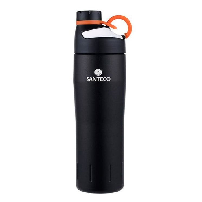 Outdoor Vacuum Flask Durable BPA free Water Bottle 590ml - Black - Vacuum Flasks & Thermoses