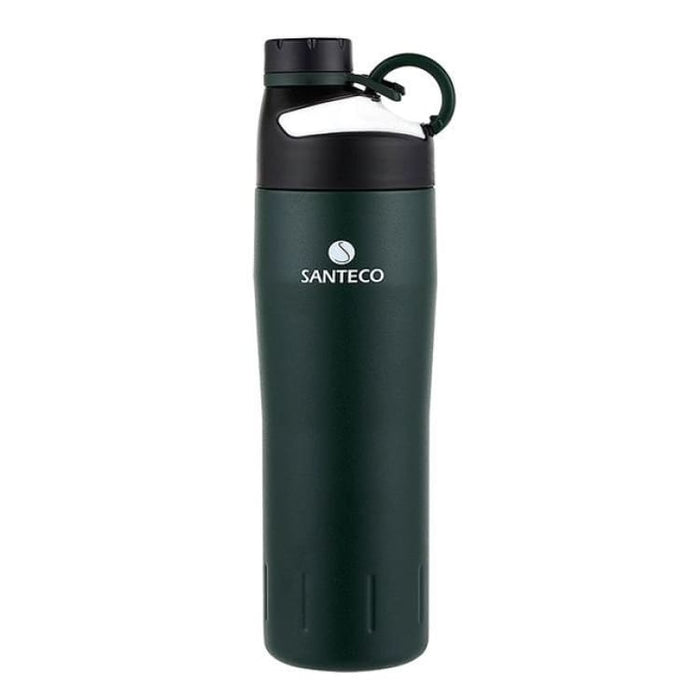 Outdoor Vacuum Flask Durable BPA free Water Bottle 590ml - Dark Green - Vacuum Flasks & Thermoses