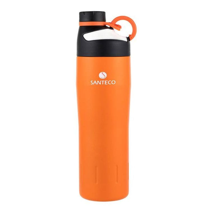 Outdoor Vacuum Flask Durable BPA free Water Bottle 590ml - Orange - Vacuum Flasks & Thermoses