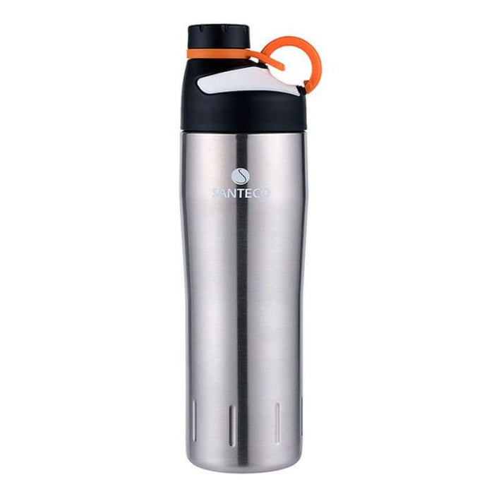 Outdoor Vacuum Flask Durable BPA free Water Bottle 590ml - Stainless Steel - Vacuum Flasks & Thermoses