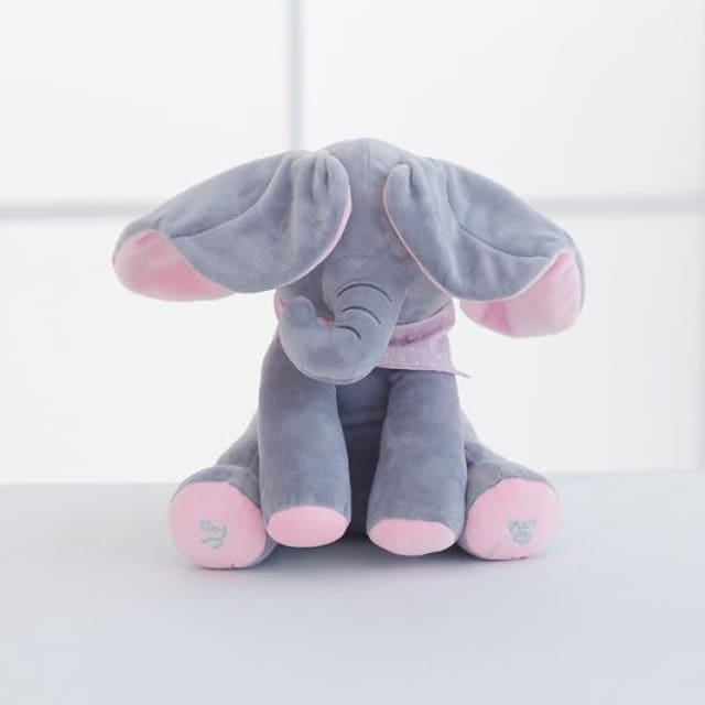 Peekaboo Peggy Elephant Toy