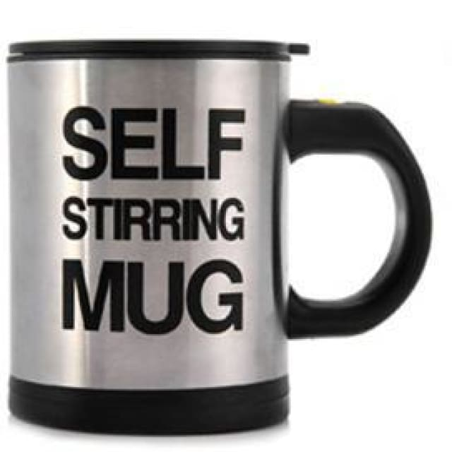 Perfect Self Stirring Mug - Black