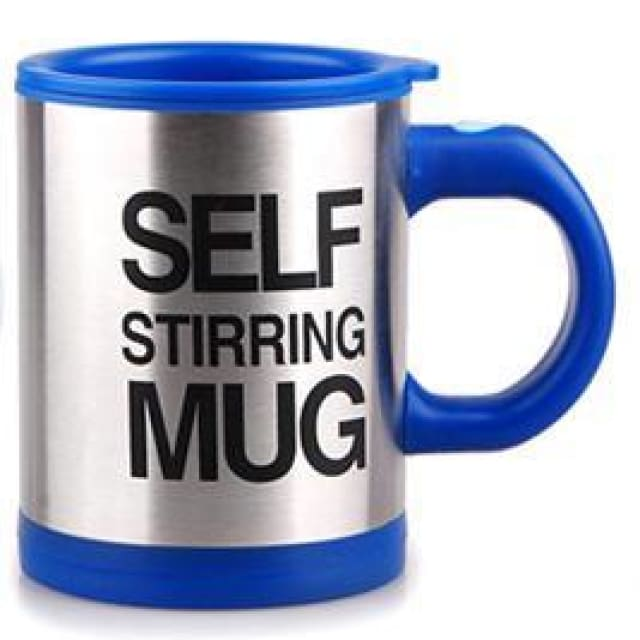 Perfect Self Stirring Mug - Deep Blue