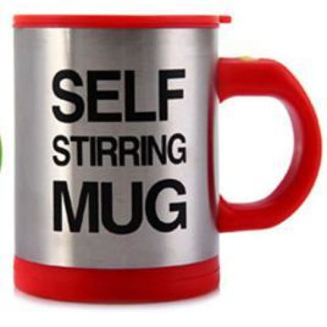 Perfect Self Stirring Mug - Red