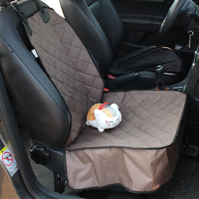 Pet Dog Car Seat Mat - Brown / 100x50x18cm - Dog Car Seat