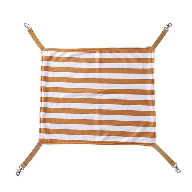 Pet Hammock Bed for Cat & Small Dog Puppy - Brown / 45x37cm / China - Pet Hammock Bed