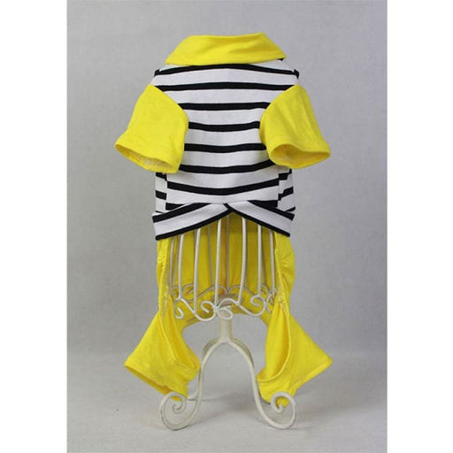 Pet Jumpsuit For Small Dog Yellow - Pet Jumpsuit