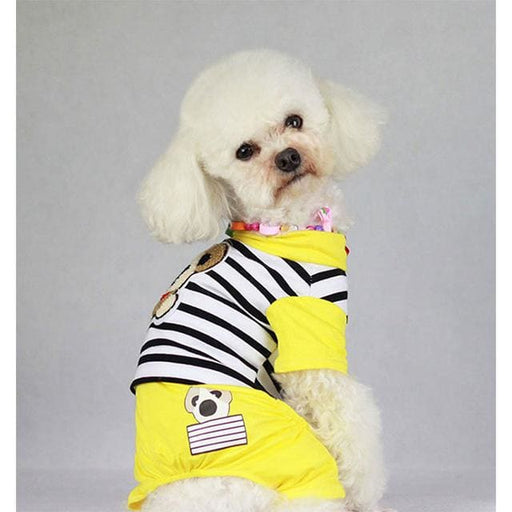 Pet Jumpsuit For Small Dog Yellow - Yellow / S - Pet Jumpsuit