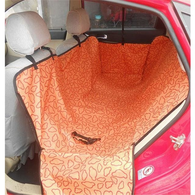 Pet Seat Cover High Quality - Waterproof - Orange / one size - Pet Seat Cover