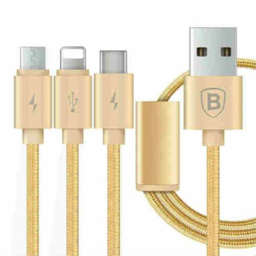 Phone Cable Micro USB Type C Multi Charger For iPhone X 8 7 6s 6 SE 5s For Android Samsung - Mobile Phone Cables