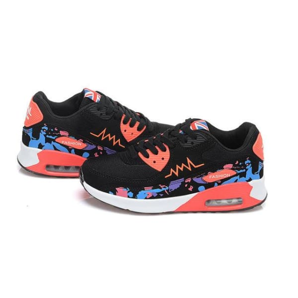PINSV Fashion Women Running Shoes - hei tu ya / 5 - Running Shoes