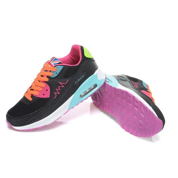 PINSV Fashion Women Running Shoes - qi cai / 5 - Running Shoes