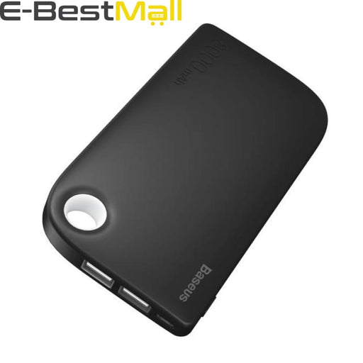Portable Charger Power Bank 8000mAh Black/white/Blue/Pink - Black - Power Bank