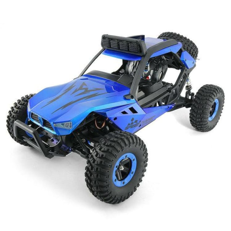 Q46 1/12 2.4G 4CH High Speed Off Road Buggy Crawler 45km/h RC Car - Blue - Ride On Car
