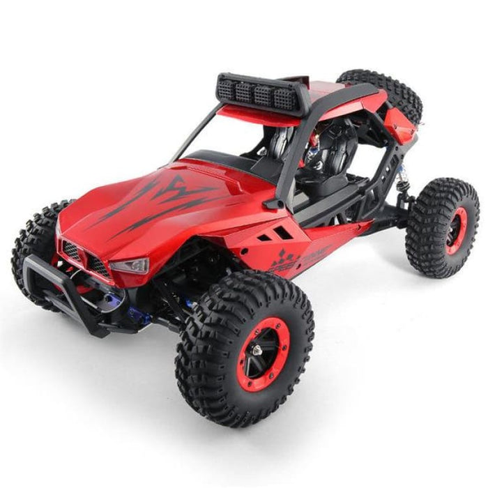 Q46 1/12 2.4G 4CH High Speed Off Road Buggy Crawler 45km/h RC Car - Red - Ride On Car