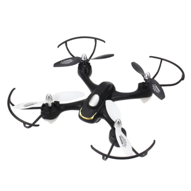 RC Quadcopter E33C 2.4G 6CH With 2MP Camera Mode LED Night Flight RTF VS Syma x5c - RC Helicopters