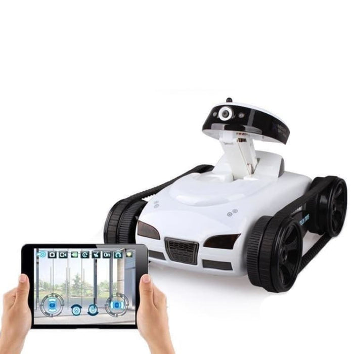 Remote Control Mini WiFi RC Car Camera Real-time Tank Kids Toy For Iphone IOS For Android Smart Phone - Ride On Car
