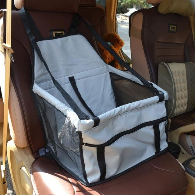 Seat Car For Pet Dog & Cat Waterproof - Light Gray / 40x30x25cm - Seat Car