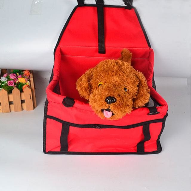 Seat Car For Pet Dog & Cat Waterproof - Red / 40x30x25cm - Seat Car
