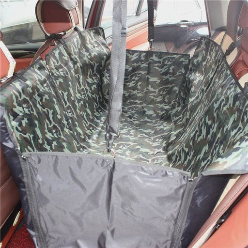 Seat Cover Waterproof - Pet Hammock Protector With Safety Belt - Seat Cover Waterproof