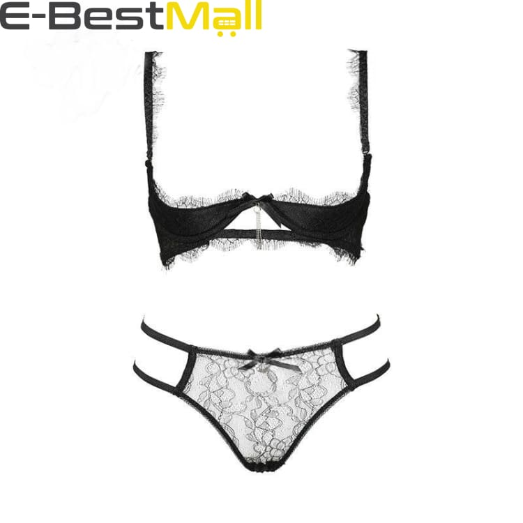 Sexy Underwear sets womens - Lace - B / 32 - Bra & Brief Sets