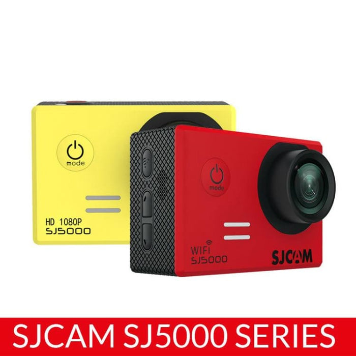 SJCAM SJ5000 Series SJ5000 & SJ5000 WiFi Action Camera Notavek 96655 Sport DV 2.0 LCD Waterproof Camcoder Optional Package - Sport & Action