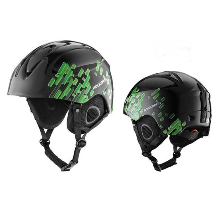 Skiing Helmet EPS Integrally-molded - Black / 58-61CM - Helmets