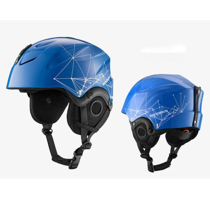 Skiing Helmet EPS Integrally-molded - Blue / 58-61CM - Helmets