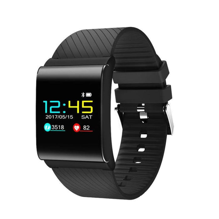 Smart heart rate Bracelet - black - Smart Wristbands
