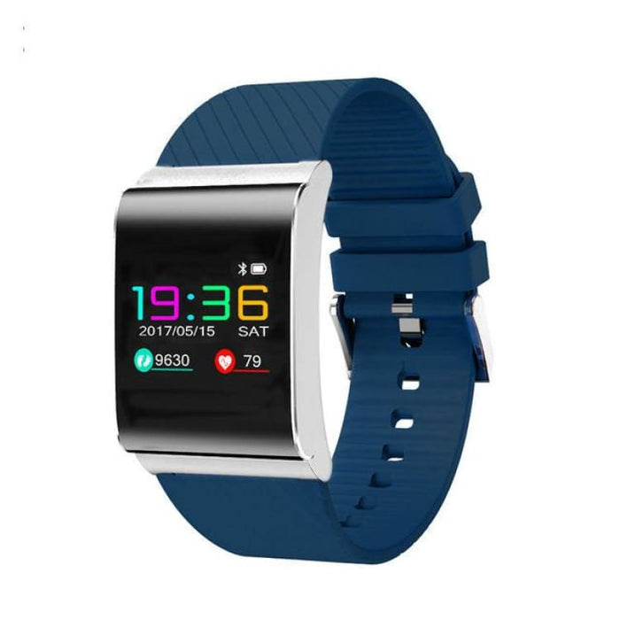 Smart heart rate Bracelet - blue - Smart Wristbands