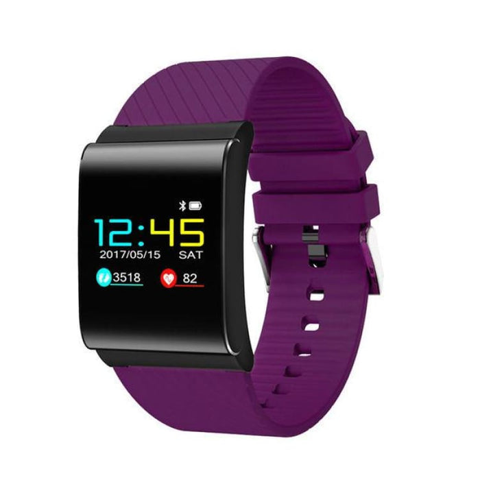 Smart heart rate Bracelet - purple - Smart Wristbands