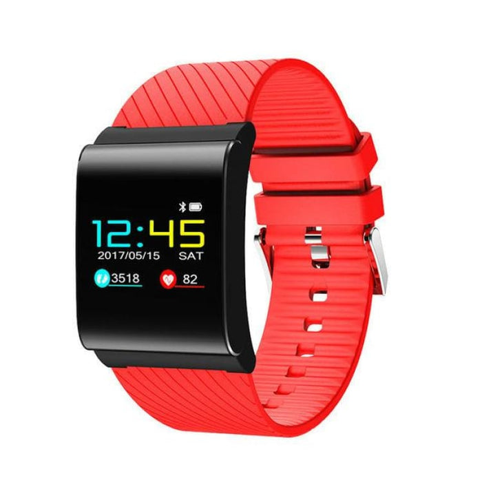 Smart heart rate Bracelet - red - Smart Wristbands