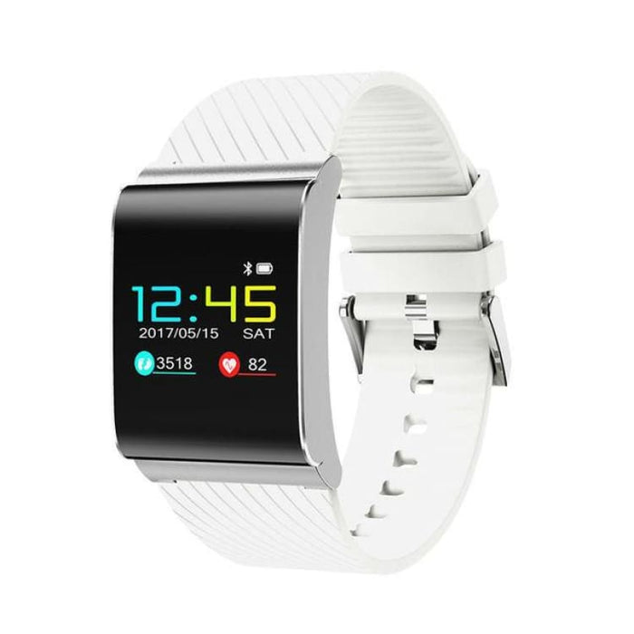 Smart heart rate Bracelet - white - Smart Wristbands