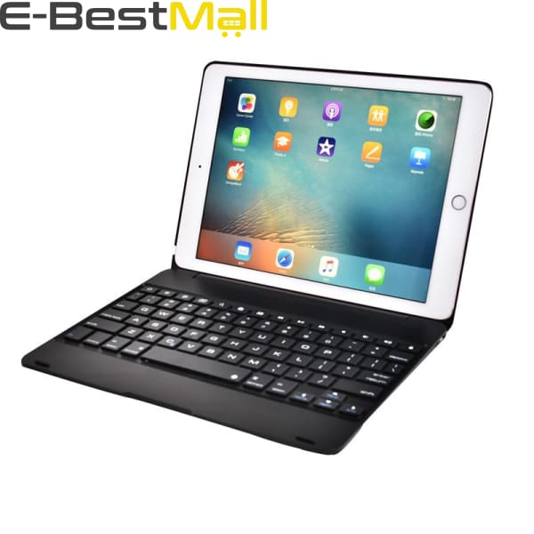 Smart Kebo® Bluetooth Keyboard Case for iPad compatible iPad Pro 9.7 Inch iPad 9.7 Inch iPad Air 1 and 2 2018 iPad 9.7 2017 iPad 9.7 -