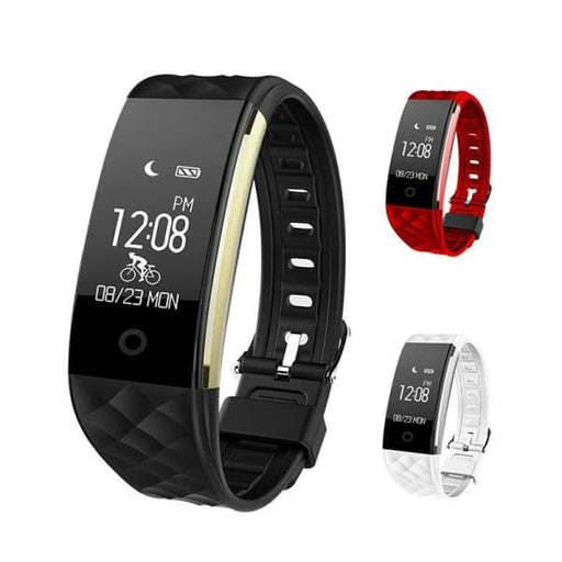 Smart Wristband Heart Rate Monitor IP67 Bluetooth For Android IOS - Smart Wristbands