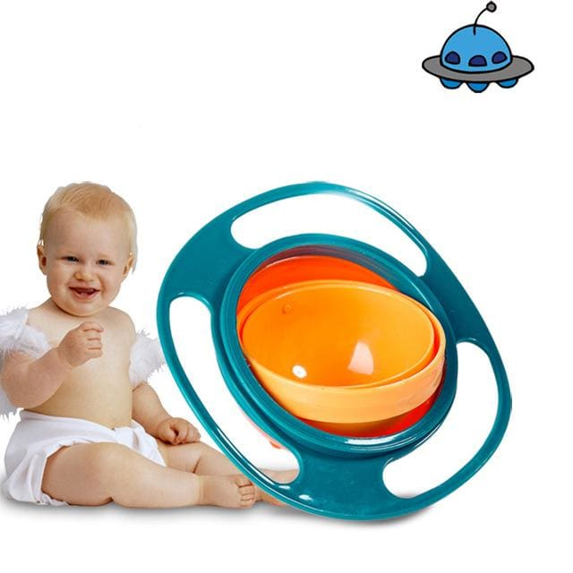 Spill Proof Baby Bowl - Green