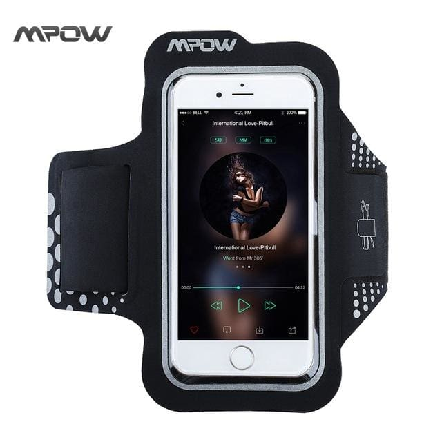 Sport Armband for iPhone 5S 6s/6 Samsung Galaxy S7 S6 Xiaomi Huawei - China / Black - Armbands