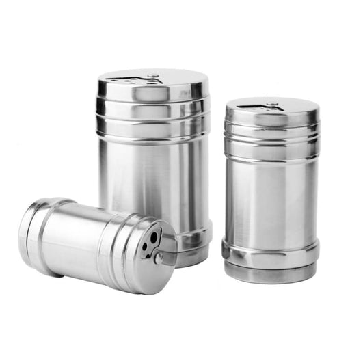 Stainless Steel Salt Pepper Shaker - Salt Pigs Cellars & Servers