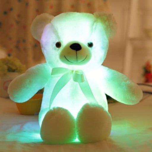 The Amazing LED Teddy - White