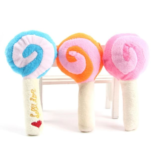 Toy Lollipop For Dog & Cat - 5pcs Random Color - Dog & Cat Toy