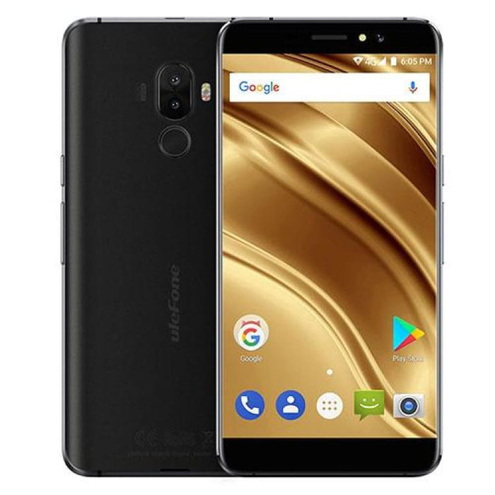 Ulefone S8 Pro 2GB/16GB Fingerprint Identification 5.3 Android 7.0 MTK6737 Quad Core 64-bit up to 1.3GHz OTG Network 4G FM - Black - Mobile