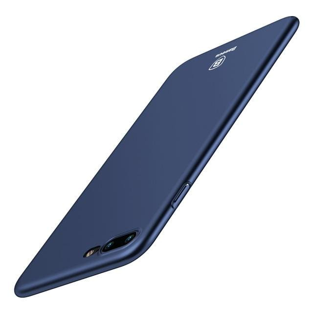 Ultra Thin Slim Cover For iPhone 8 7 6 6s - Dark Blue / For iPhone 8 - Fitted Case